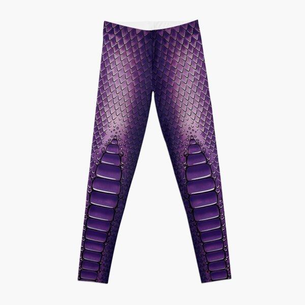 Purple Dragon Leggings