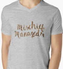 MISCHIEF MANAGED Men's V-Neck T-Shirt