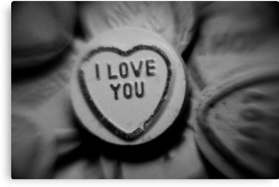 Black Whitei Love You