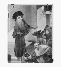 Leonardo Lecturing Bears on the Death of Film. iPad Case/Skin