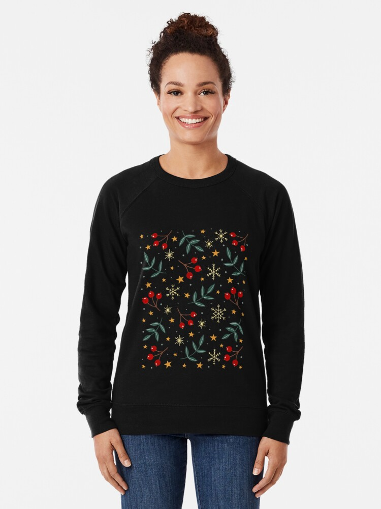 Alternate view of Winter magic Lightweight Sweatshirt