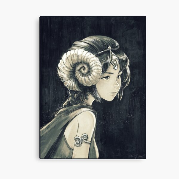 Grisaille Canvas Print