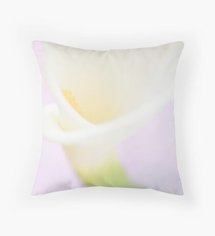Sweet calla lily Throw Pillow