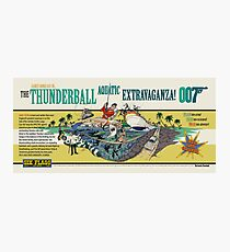 THE THUNDERBALL AQUATIC EXTRAVAGANZA Photographic Print