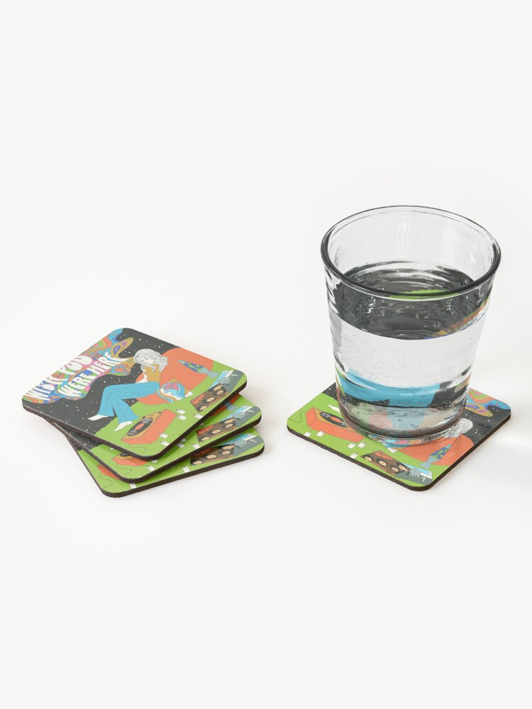 Alternate view of Wish you were here Coasters (Set of 4)