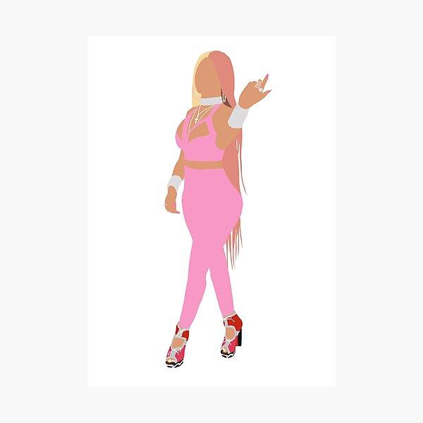 Nicki Minaj Lámina fotográfica