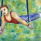 Gymnastic Rings by DarkRubyMoon