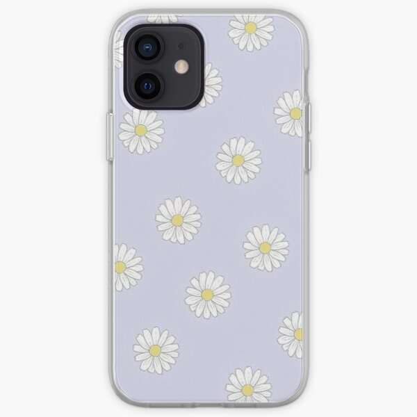 Marguerites pastel Coque souple iPhone