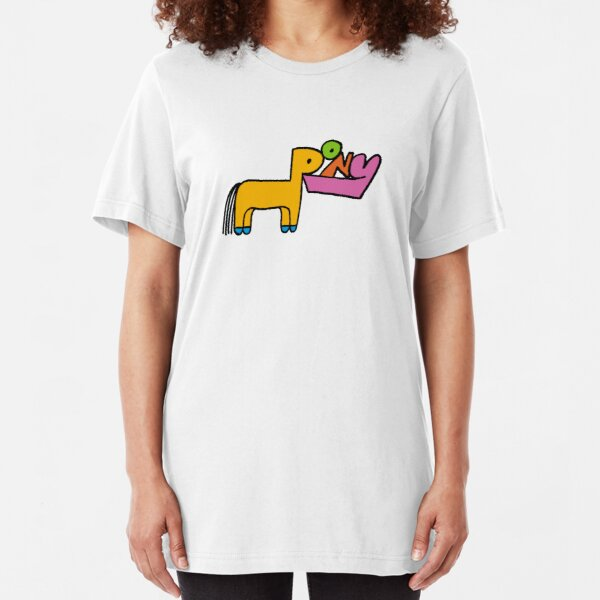 Pony Rex Orange County Slim Fit T-Shirt