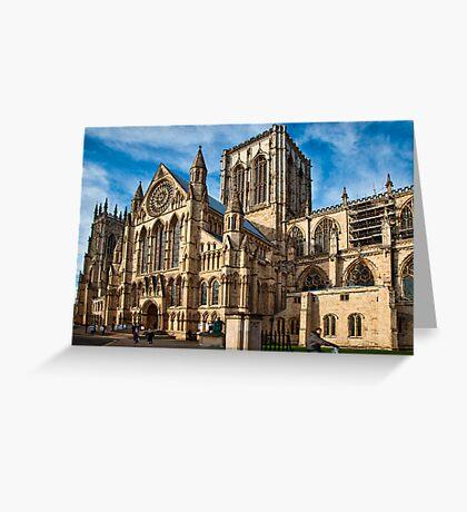 York Minster Greeting Card