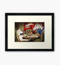 A Super Bluff Framed Print