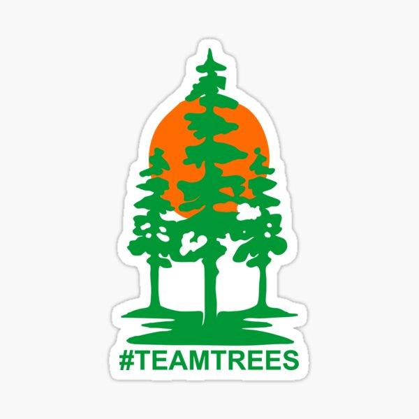 Team Trees Official Logo Sticker