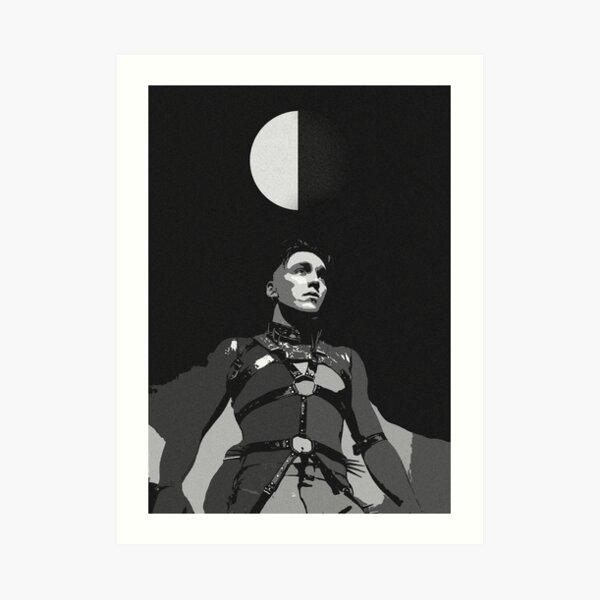 Hatari Matthias Light & Dark Art Print