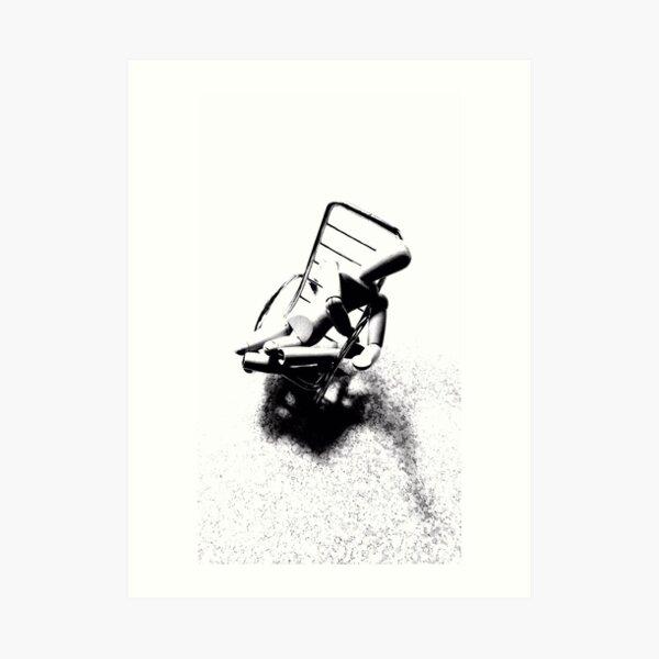 """""""Despair Chair (7)"""" Art Print"""