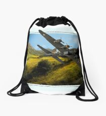 Out of the picture Drawstring Bag