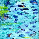 Lily Pond Abstract 5 by HeavenSpirit Creations