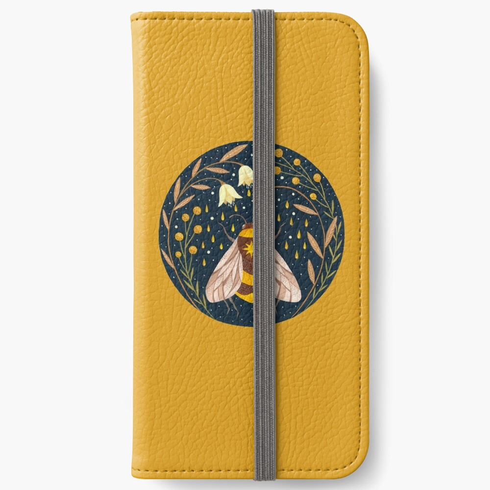 Harvester of gold iPhone Wallet