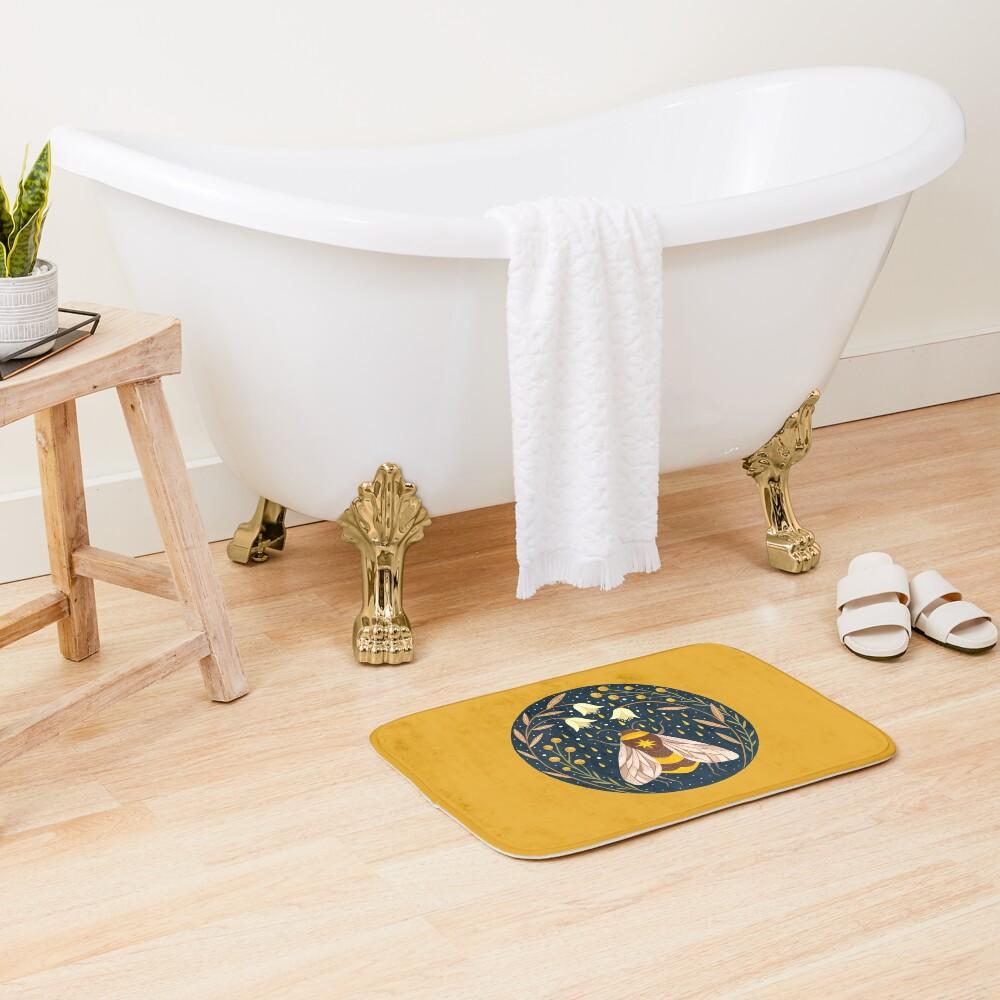 Harvester of gold Bath Mat