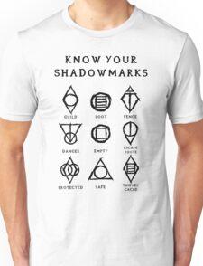 Know Your Shadowmarks (Dark) Unisex T-Shirt