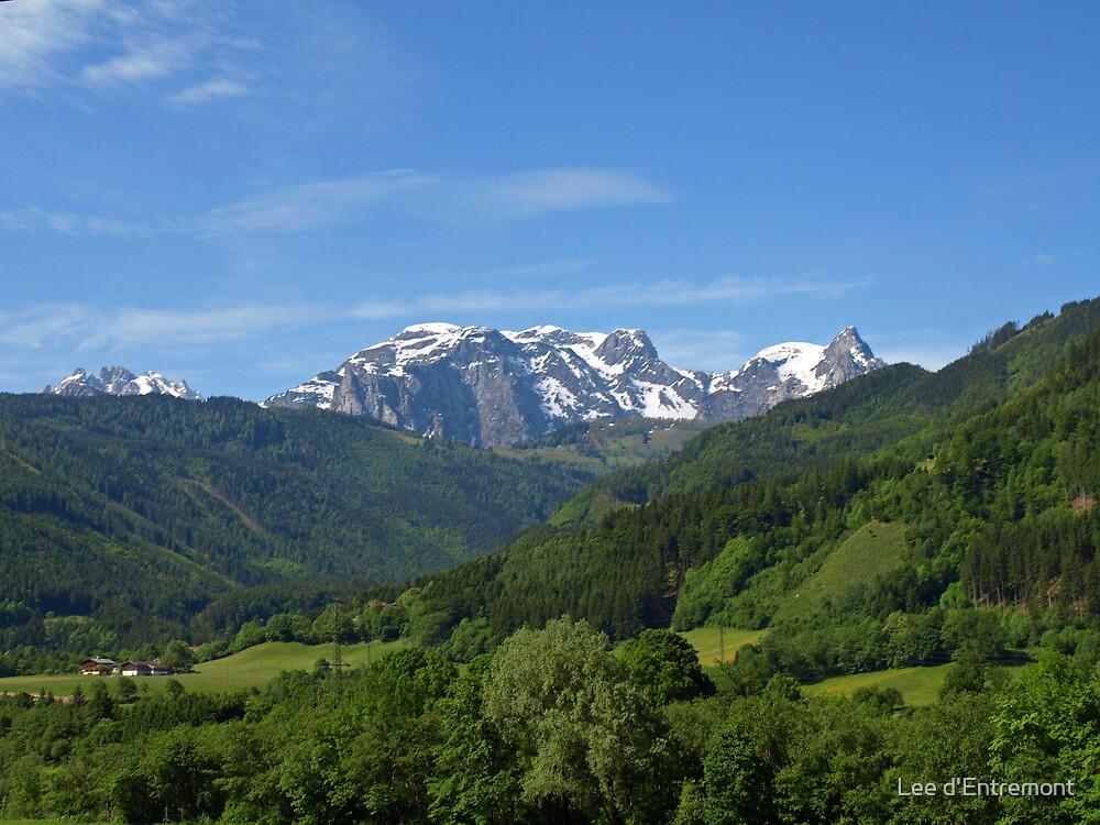 Gorgeous Austrian Alps. by Lee d'Entremont