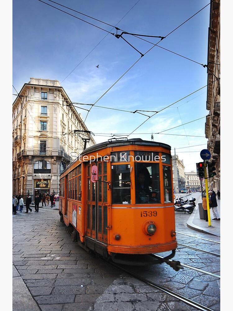 Tram in Milan by stephenknowles