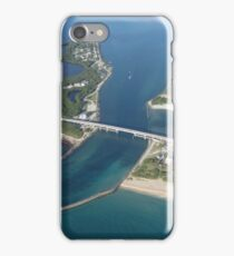 Sebastian Inlet in Deep Blue iPhone Case/Skin