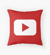 Youtube Throw Pillow