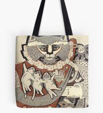 Kitten Papa Tote Bag