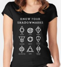 Know Your Shadowmarks (Light) Women's Fitted Scoop T-Shirt