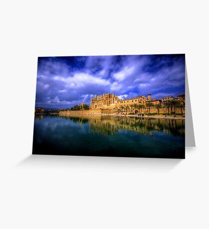 Cathedral of Santa Maria of Palma Greeting Card
