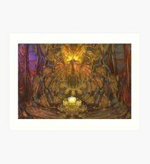 Art Nouveau Altar Art Print