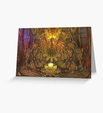 Art Nouveau Altar Greeting Card