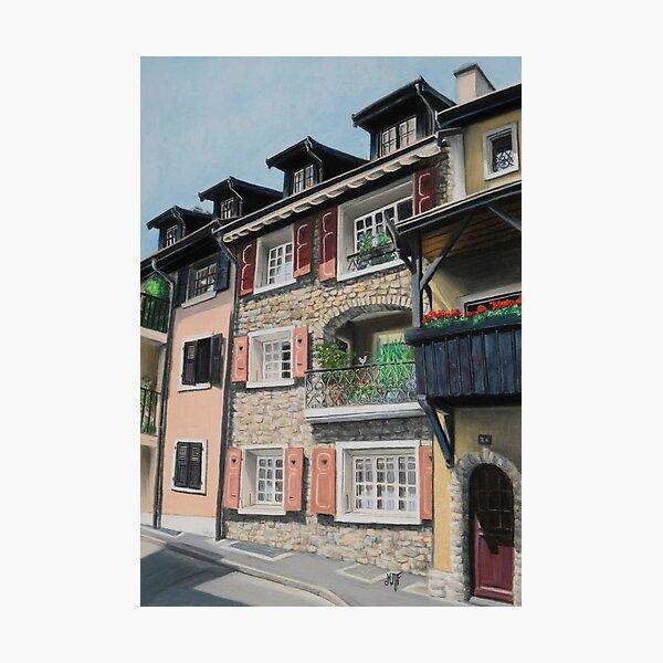 Bourg-Dessous, La Tour-de-Peilz Impression photo