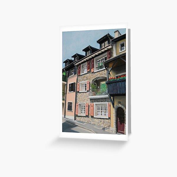 Bourg-Dessous, La Tour-de-Peilz Carte de vœux
