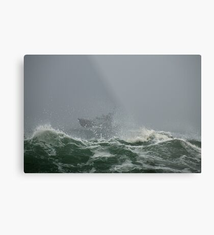 USCG Motor Lifeboat – Eastern Point, Gloucester Metal Print