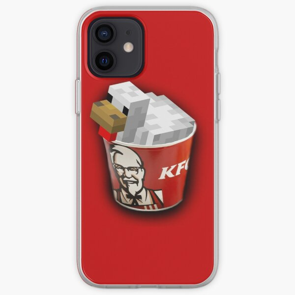 KFC MINECRAFT iPhone Soft Case
