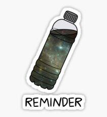 Reminder - Bojack Horseman (Black) Sticker