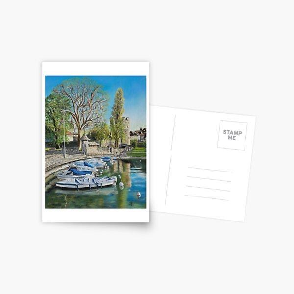 La Tour et son reflet, La Tour-de-Peilz Carte postale