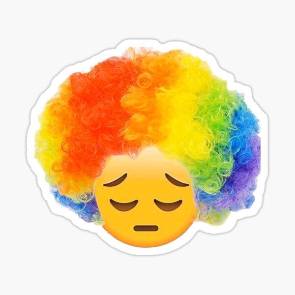 Sad Clown Meme Sticker By Odinsxn Redbubble