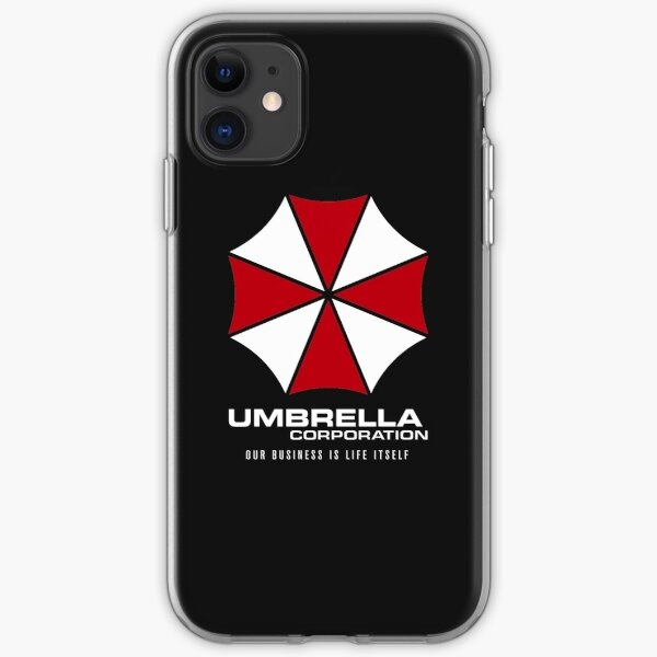 Umbrella Corporation Logo - Our Business Is Life Itself iPhone Soft Case