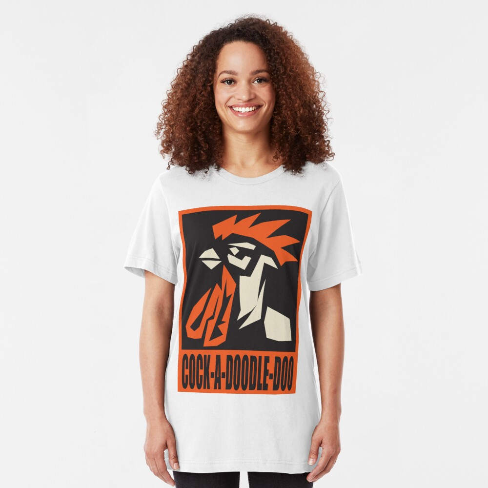 revolutionary rooster Slim Fit T-Shirt