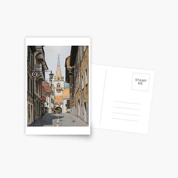 L'église de La Tour-de-Peilz Carte postale