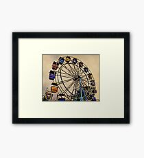 Yesterday at the Fair Framed Print
