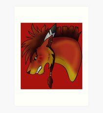 Red XIII Art Print