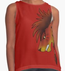 Red XIII Sleeveless Top