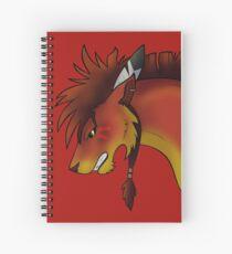 Red XIII Spiral Notebook