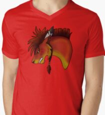 Red XIII V-Neck T-Shirt