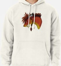 Red XIII Pullover Hoodie
