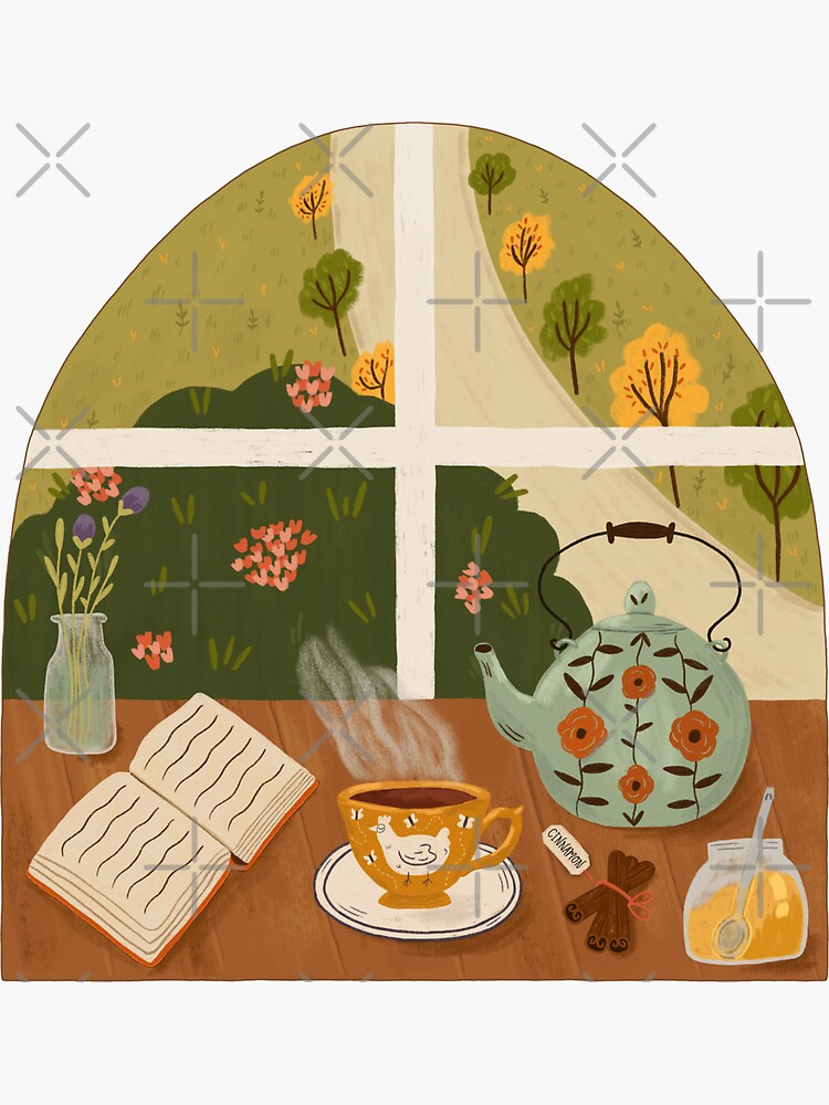 Tea Time by the Window by ohjessmarie