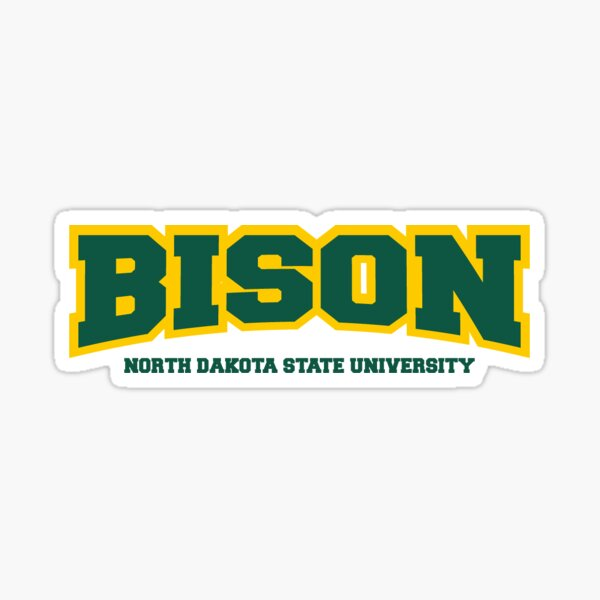 BISON - North Dakota State University Sticker